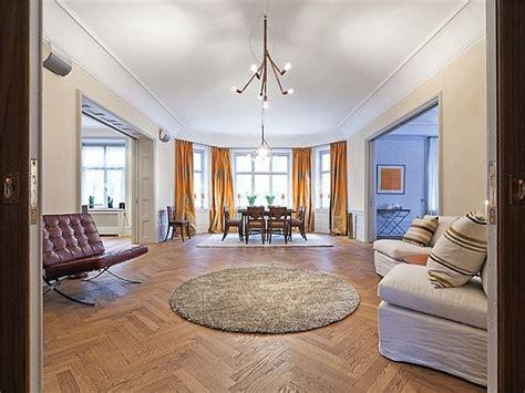 big apartment  sweden   classic design