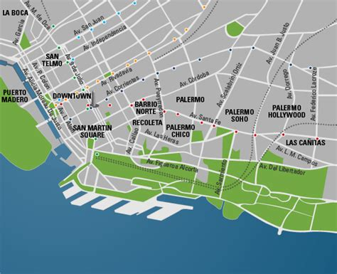 buenos aires map buenos aires argentina travel guide and travel info tourist destinations