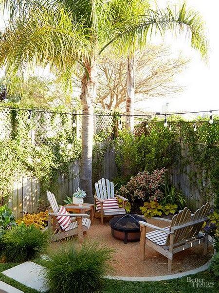 grandes ideas de decoracion  pequenos patios traseros