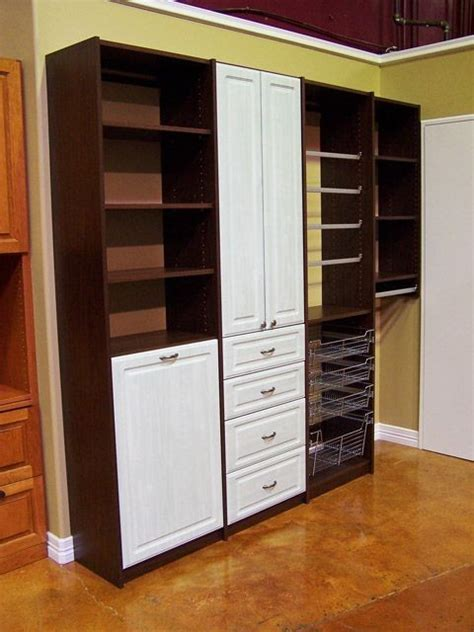 Closet Organizers With Drawers And Shelves Organize To Go Craft Closet Organizer Drawers