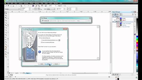 corel draw x6 memory settings using print merge in coreldraw graphics suite x6 youtube
