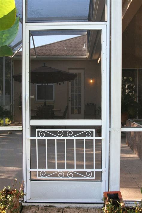 aluminum patio screen doors 46 best decorative aluminum screen door grilles images on