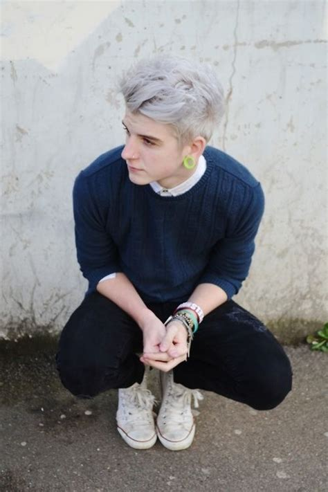 trend gray platinum hair men ash platinum blonde colorful hair pinterest blue