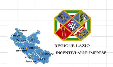 regione lazio sede legale regione lazio incentivi alle imprese