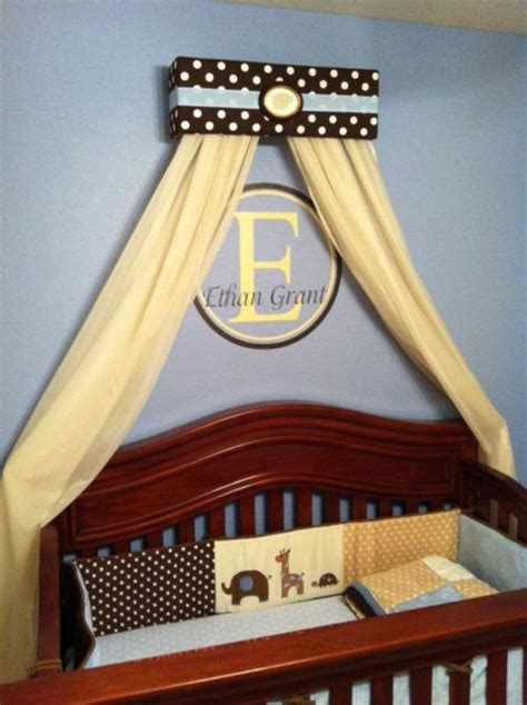 boys bed canopy prince boy crib nursery crown bed canopy padded embroiderd