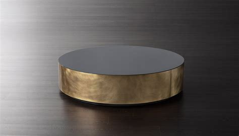 White And Brown Coffee Table Belt Low Table Meridiani