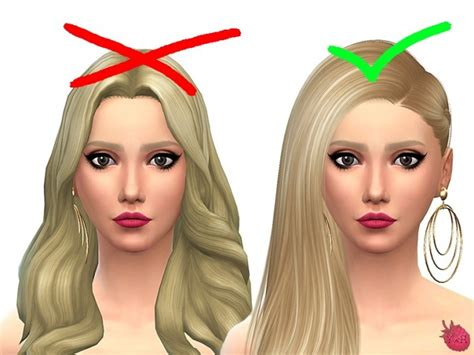 sims 4 hairstyles mods hide all female hair from cas by yuunyuu at mod the sims