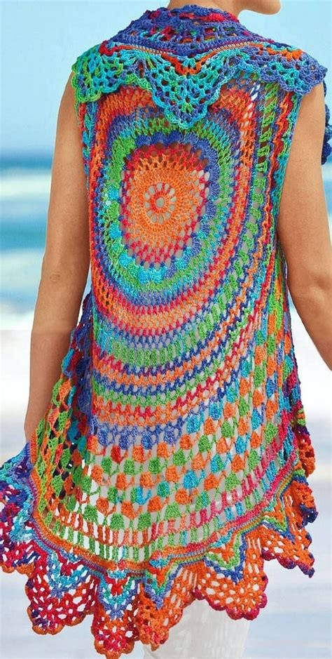 free crochet bohemian vest pattern free crochet pattern for hippie vest dancox for