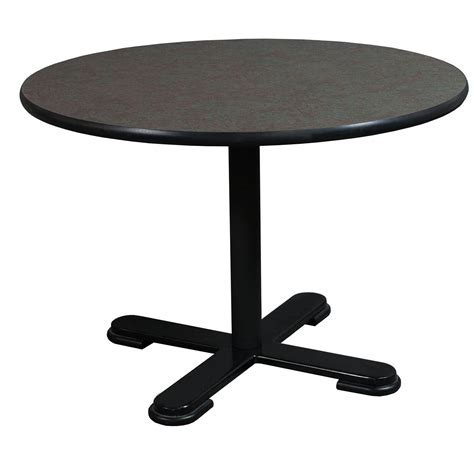 Steelcase Vecta Used Laminate Round Table, Multi