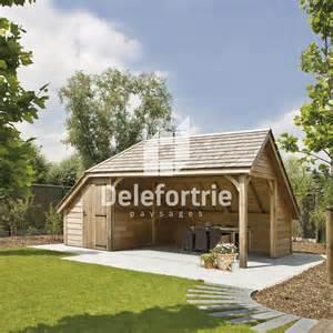 chalet de jardin en bois delefortrie paysages