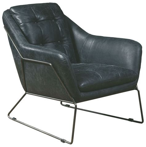 Black Leather Accent Chair Marina Black Leather Accent Chair P006202 Pulaski