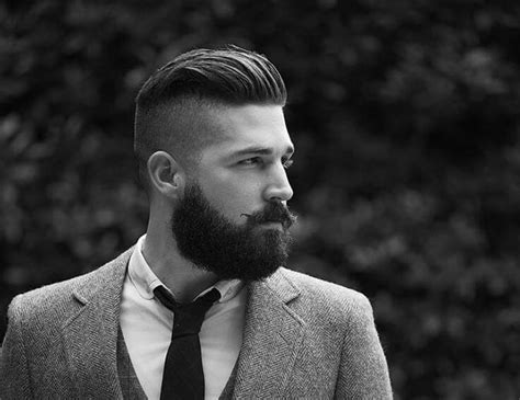 undercut with beard 20 brilliant disconnected undercut exles how to guide