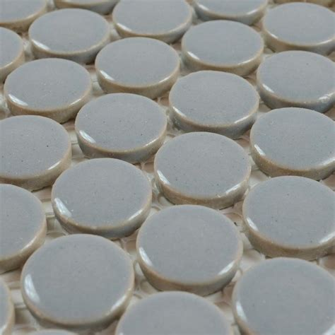 round bathroom tiles penny round porcelain tile backsplash swimming pool tiles