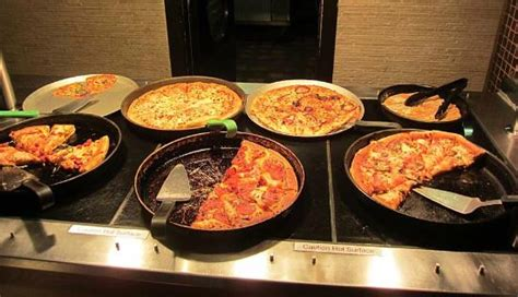 pizza buffet picture of pizza hut london tripadvisor