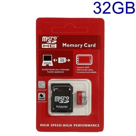 32gb high speed microsd transflash memory card with sd adapter ebay