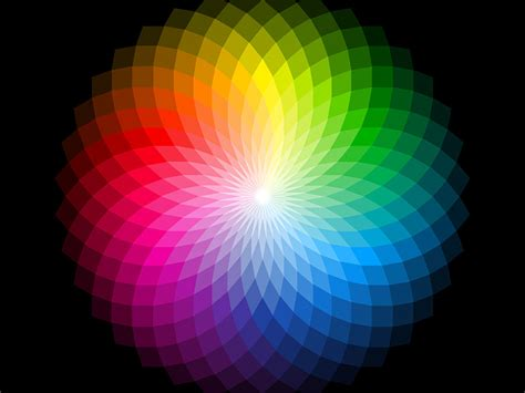 what do the different colors of visible light represent are black and white colors britannica