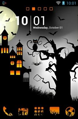 themes halloween android best android themes androidlooks com