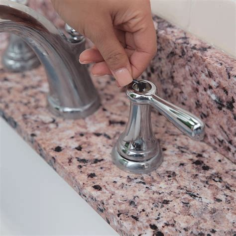 How To Fix A Bathroom Faucet Handle by Repair A Leaky Two Handled Faucet