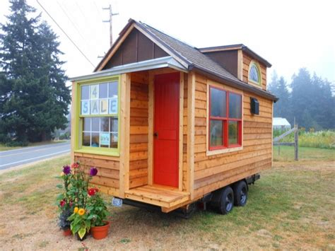 Cabins On Wheels For Sale by Mighty Micro House 136 Sq Ft Cabin On Wheels