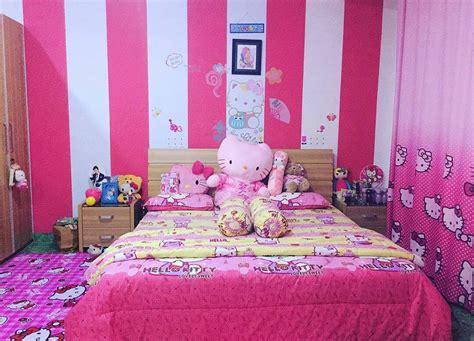 bilik tidur pink putih desainrumahidcom