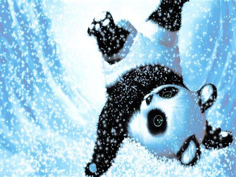 cute christmas panda bear cute panda backgrounds wallpaper cave