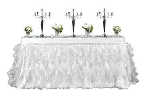 tutu table skirt for rent table runner 40 table linens rental hawaii