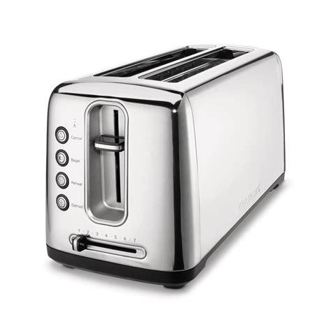 Stainless Steel Bread Toaster Cuisinart Stainless Steel Artisan Bread Toaster Cpt 2400