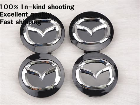 56mm mazda wheel hub cap decal sticker for mazda 2 3 5 6 cx 5 cx 7 cx 9 rx8 center caps auto