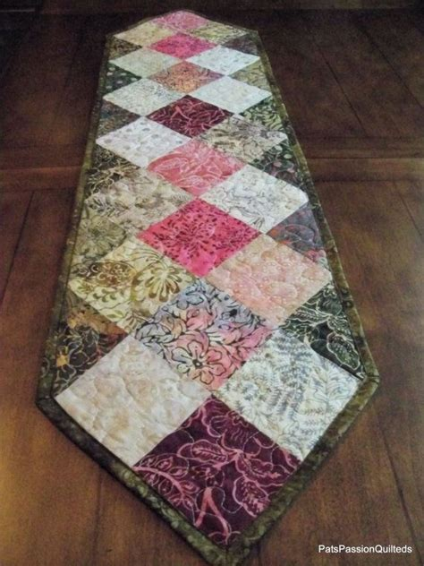 Patchwork Runner - 598 best images about table runners wall hanging on