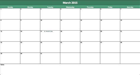 march 2015 calendar 2015 march calendar