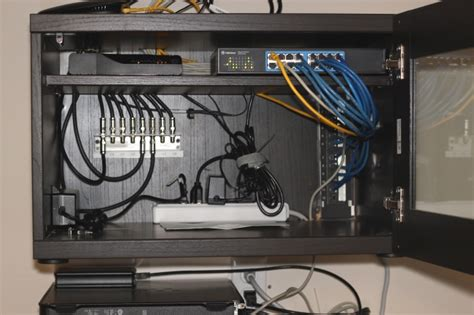 home network wiring cabinet ikea hackers