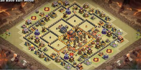 clash of clans th10 war base layout 10 legendary th10 war base layouts farming base layouts 2017