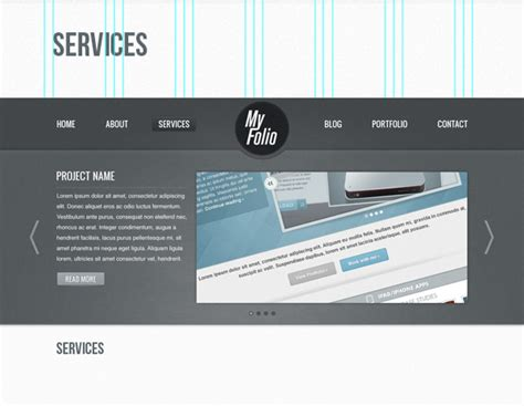 web design layout names create a fabric textured web layout using photoshop