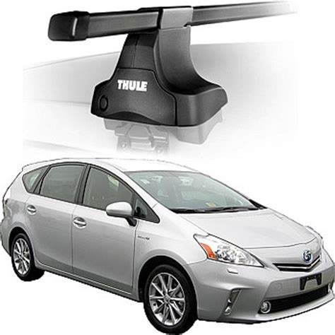 Prius V Roof Rack Thule by 2012 Toyota Prius V Roof Rack Complete System Thule