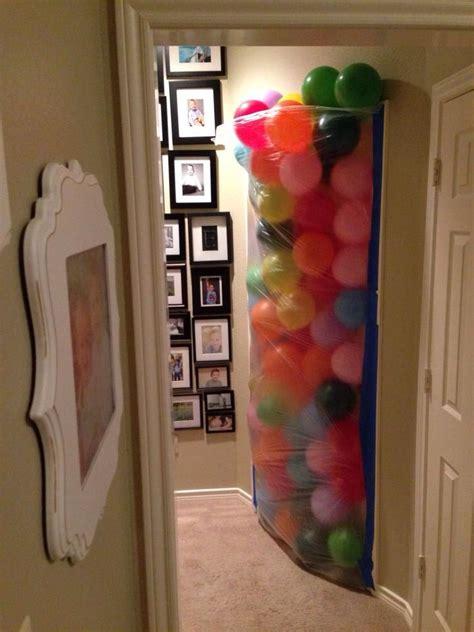 Best  Ee  Ideas Ee   About Balloon Door Surprise On Pinterest