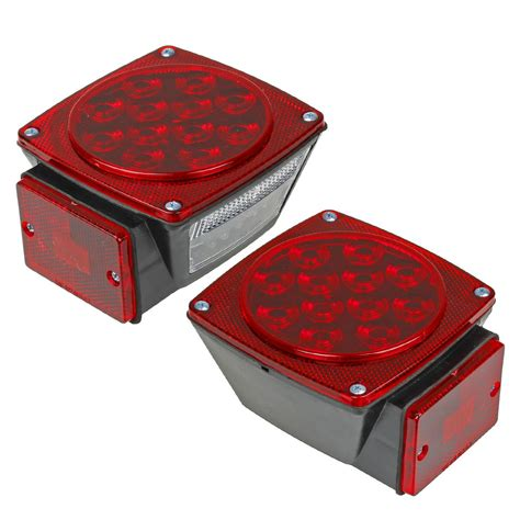 trailer brake light kit led submersible square stop brake light kit truck