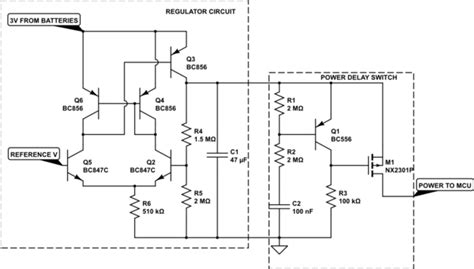 discharge capacitor transistor transistors discharging capacitors upon power loss electrical engineering stack exchange