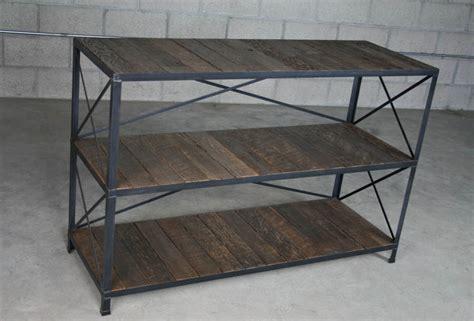 vintage industrial shelving unit combine 9