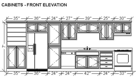 simple kitchen elevation design free simple kitchen dimensioning cabinets in a wall elevation