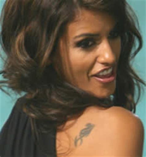 monica cruz tattoo pics tattoos photos of her tattoos
