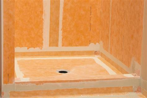 schluter kerdi waterproofing kerdi membranes