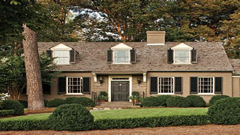 exterior paint colors for cottages brick cape cod house brick cape cod exterior house colors