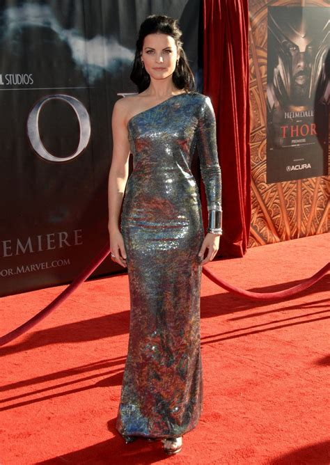 jaimie alexander confirms thor 3 and that s she s jaimie alexander in quot thor quot premiere zimbio