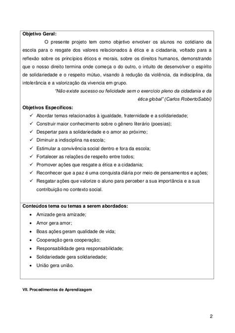 Planejamento pedagógico_ Projeto Gentileza Gera Gentileza
