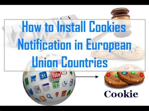 how to install a european how to install cookies notification in european union