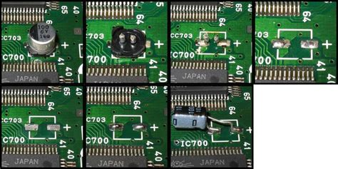 smd capacitor motherboard converting from surface to leaded capacitors techwiki