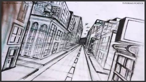 draw building learn to draw a city in one point perspective learn how