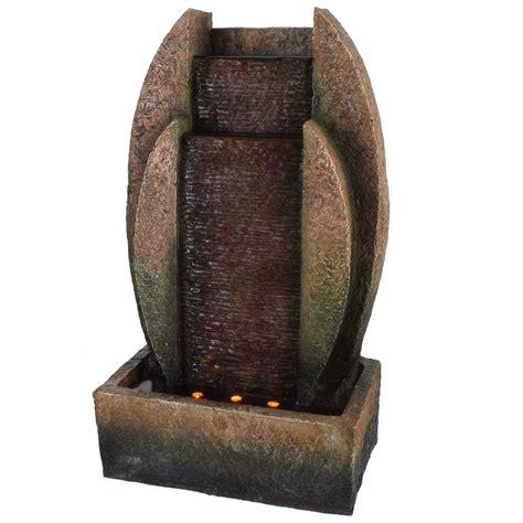 beleuchtung zimmerbrunnen zimmerbrunnen wasserspiel tischbrunnen wasserwand led