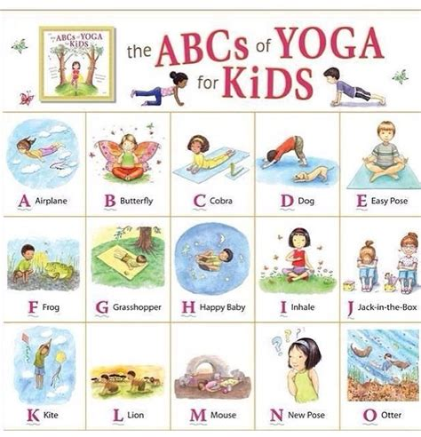 free printable alphabet yoga the gallery for gt yoga poses for kids printable