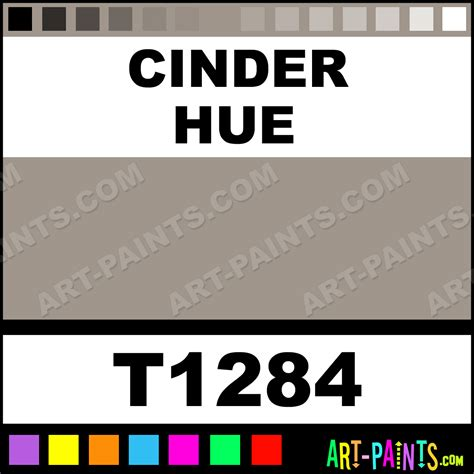 what color is cinder cinder ultra ceramic ceramic porcelain paints t1284